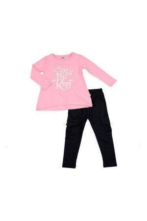 Комплект для девочки (92-116см) UD 0956/0959(1)розов