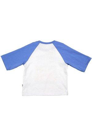 Футболка 3/4 рукав (92-116см) UD 0755(2)голубой