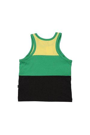 Майка-борцовка (92-116см) UD 0723(7)зелен