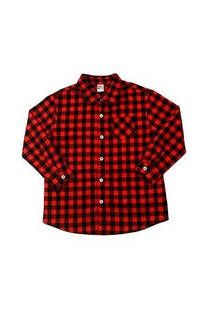 *Сорочка (рубашка) (98-122см) UD 4083(1)красный