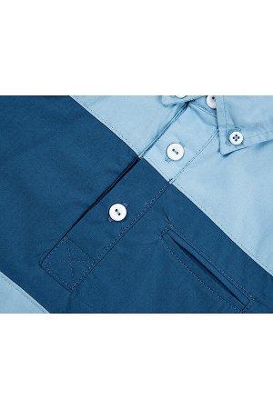 Сорочка (рубашка) (122-146см) UD 0497(2)голубой