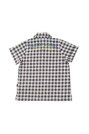 Сорочка (рубашка) (122-146см) UD 4351(2)клетка