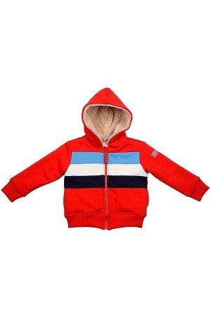 Куртка с капюшоном (80-92см) UD 0977(3)красный