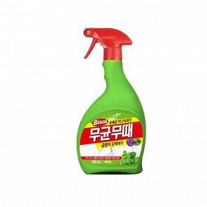 """Чистящее средство """"BISOL"""" для ванной от ПЛЕСЕНИ (с ароматом трав) пульверизатор  900 мл / 9"""