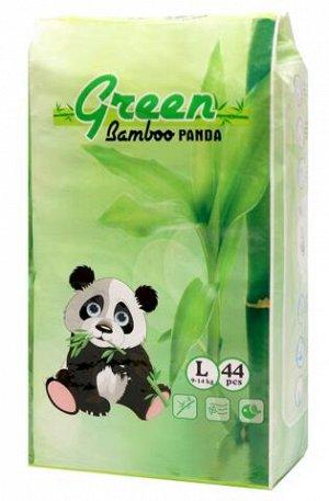 Детские подгузники-трусики GREEN BAMBOO PANDA, L44