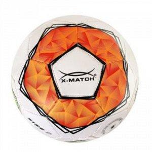 Мяч футбольный X-Match, 1 слой PVC, камера резина , машин обр.