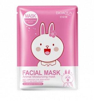 Тканевая маска с эссенцией Вишневого цвета.