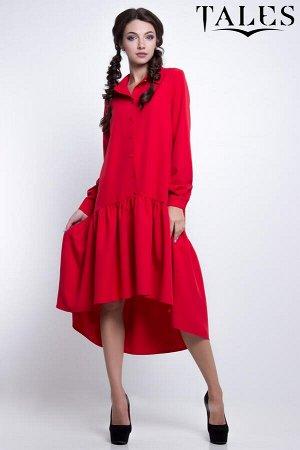 Платье-трапеция Tetra
