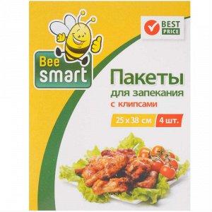 Матрёша (BeeSmart) Пакеты д/запекания 25*38см 4 шт