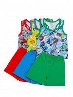 Костюм (борцовка+шорты) для мальчика кулирка 26-30