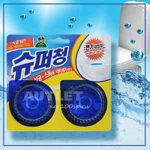 Очиститель для унитаза Sandokkaebi Super Chang, 40 г*2 шт