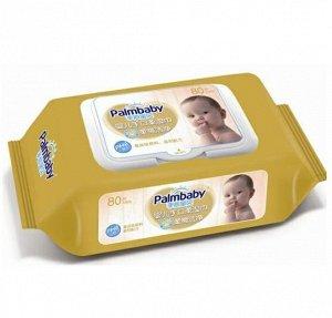 Влажные салфетки PalmBaby DS180 с экстрактом ромашки, 80шт