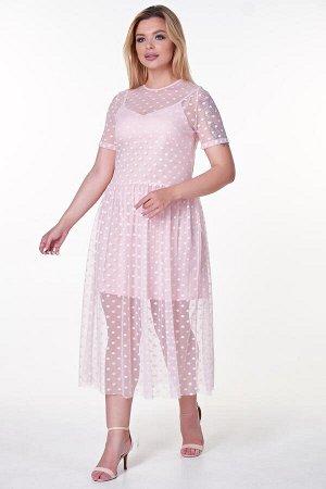 Платье Тутси №9  .Цвет:розовый