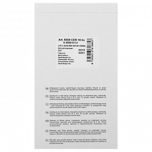 Маркер для доски, Centropen 8559, 5.0 мм, линия 2,5 мм, черный