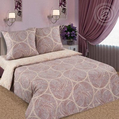 Твой сладкий сон с Арт*постелькой!  — Поплин DE LUXE с простынью на резинке — Постельное белье