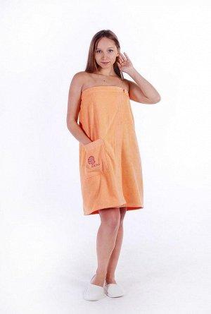 Полотенце-накидка велюровая женская