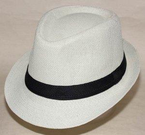 Шляпа рисовая солома