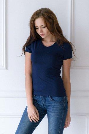 Футболка 90% вискозы, 10% лайкры Тип ткани:  Вискоза Базовая футболка с коротким рукавом из качественной вискозы.