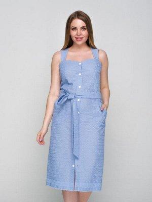Платье 184, голубой
