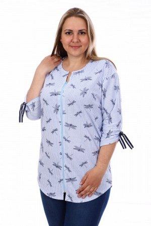 Рубашка кулирка СТРЕКОЗЫ Р-353