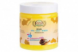 Beauty Nature By Carebeau Body Salt Scrub Snail / Соляной скраб для тела Улитка 700гр