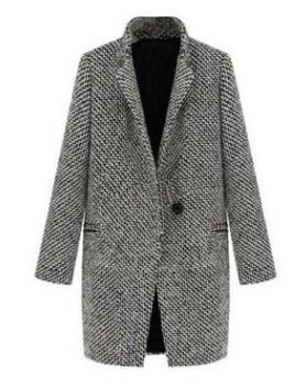 Пальто Пальто, оформленное длинными рукавами, смесь шерсти/полиэстер. Размер (обхват груди, длина рукава, длина изделия, см): S (90,60,80), M (94,61,81), L (98,62,82), XL (102,63,83), 2XL (106,64,84),