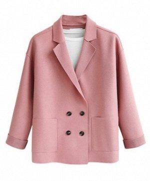 Пальто Пальто, оформленное воротником с лацканами, смесь шерсти/полиэстер. Размер (обхват груди, длина рукава, длина изделия, см): L (110,46,66), XL (116,47,66), 2XL (122,48,68), 3XL (128,49,69), 4XL