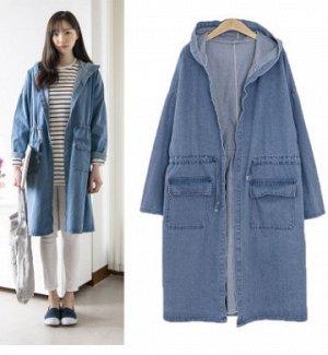 Куртка Куртка, оформленная длинными рукавами и капюшоном, смесь хлопка. Размер (обхват груди, длина рукава, длина изделия, см): XL (108,44,94), 2XL (114,45,95), 3XL (120,46,96), 4XL (126,47,97)