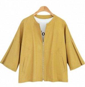 Куртка Куртка, оформленная длинными рукавами, смесь хлопка. Размер (обхват груди, длина рукава, длина изделия, см): M (98,26,55), L (104,26,56), XL (110,26,57), 2XL (116,26,58), 3XL (122,26,59)