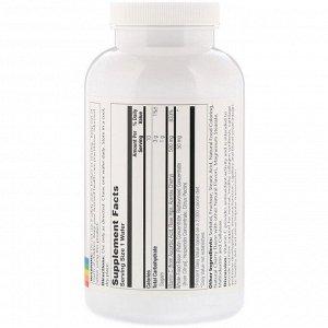 Solaray, Жевательный витамин С, натуральный вишневый вкус, 500 мг, 100 вафель