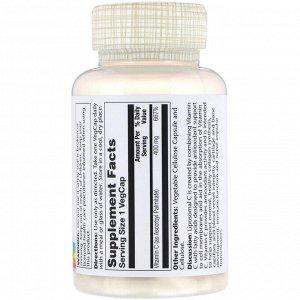 Solaray, Липосомный витамин С, 400 мг, 100 вегетарианских капсул