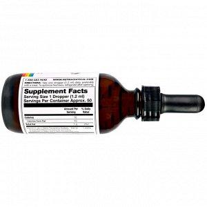 Solaray, Витамин E, жидкий, 400МЕ, 2 жид.унции(60 мл)
