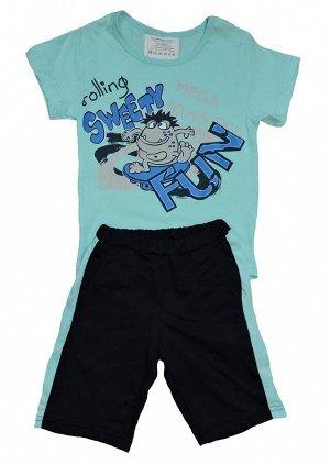 Комплект для мальчика (футболка, бриджи)