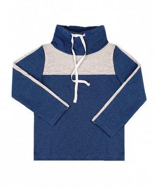 Спортивный джемпер для мальчика синего цвета Цвет: синий