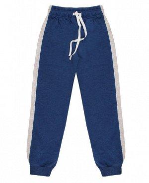 Синие спортивные брюки для мальчика Цвет: синий