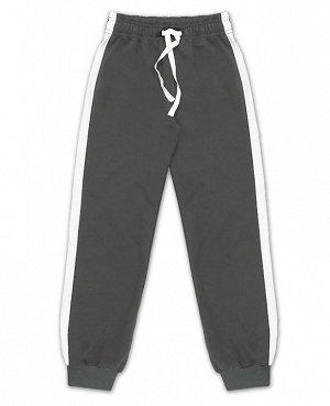 Серые спортивные брюки для мальчика Цвет: серый