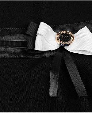 Черный сарафан для девочки Цвет: черный