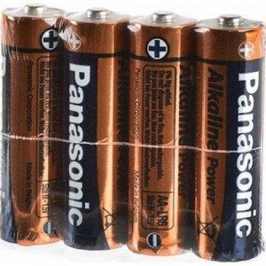 Батарейки PANASONIC ALKALINE LR6/4S (48/240)(Цена за 4 шт.)