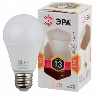 Светодиодная лампочка / лампа ЭРА LED A60-13W-827-E27