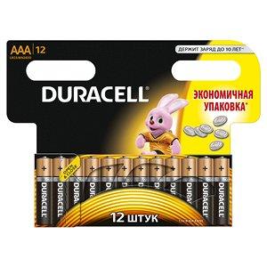 Батарейки DURACELL LR 03-12BL BASIC (144)(Цена за 12 шт.)