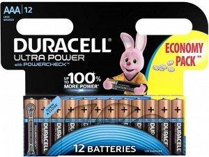 Батарейки DURACELL LR 03-12BL TURBO/Ultra Power (144)(Цена за 12 шт.)