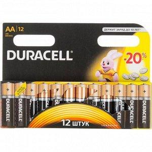Батарейки DURACELL LR 6-12BL  Basic (144)(Цена за 12 шт.)