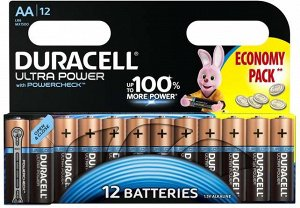 Батарейки DURACELL LR 6-12BL Ultra Power (144)(Цена за 12 шт.)