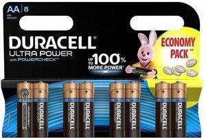 Батарейки DURACELL LR 6-8BL TURBO/Ultra Power (96)(Цена за 8 шт.)
