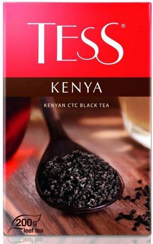 Чай Tess Kenya (Кения) черный, гранулированный СТС, 200 г