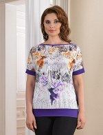 Арт. 0472 блузка цветная Salvi