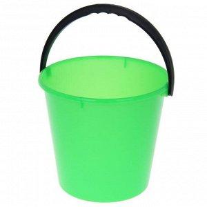 Ведро «Примула», 7 л, цвет зелёный