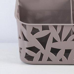Органайзер настольный универсальный 195х160х146 мм, цвет МИКС