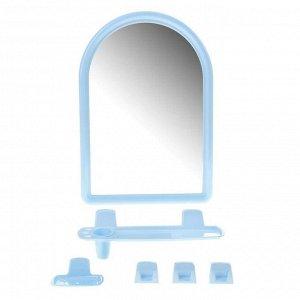 """Набор для ванной комнаты """"Berossi 56"""", цвет голубой"""