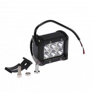 Противотуманная фара 6 LED, IP67, 18Вт, 6000К, 9-30В, направленный свет